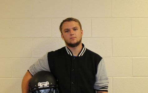 Senior Joe Burtrum is a great leader on the football team and was elected a team captain by his teammates and coaches.