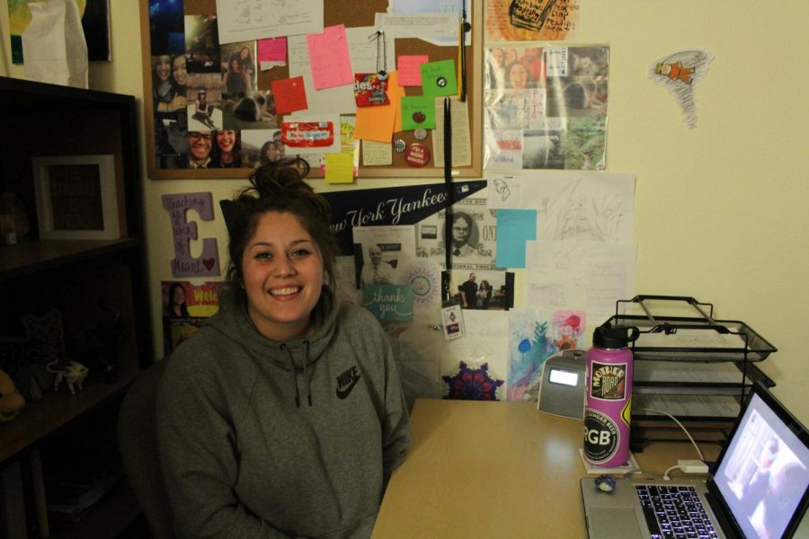 Ms. Franco teaches high school English and coaches middle school softball here at Imagine Prep.