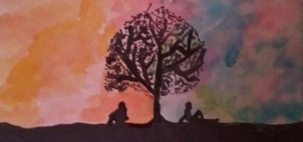 Senior Cayla Vaughan can create beautiful scenes.