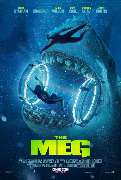 Fan of the Jaws Movie? You´ll Love ¨The Meg¨