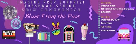 Travel to new memories at the homecoming dance