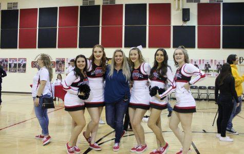 Basketball and Cheer Senior Night