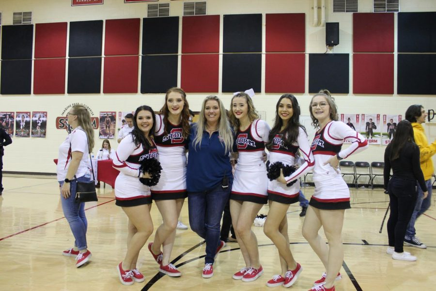 Basketball+and+Cheer+Senior+Night
