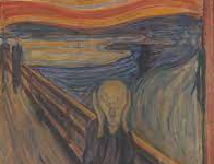 """One famous artwork that was painted on cardboard is the Scream by Edvard Munch."" Bauer said."